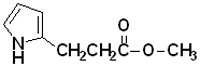 Methyl 3-(2-pyrrolyl)propionate [ 2-(2-methoxycarbonylethyl)pyrrole]